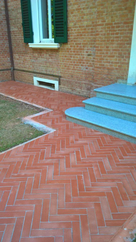 Il pavimento in cotto posatura o restauro - Gaglio Lucidature